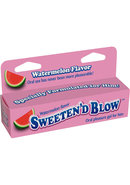 Sweeten D Blow Flavored Oral Pleasure Gel 1.5oz - Watermelon