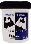 Elbow Grease Original Oil Cream Lubricant 4oz